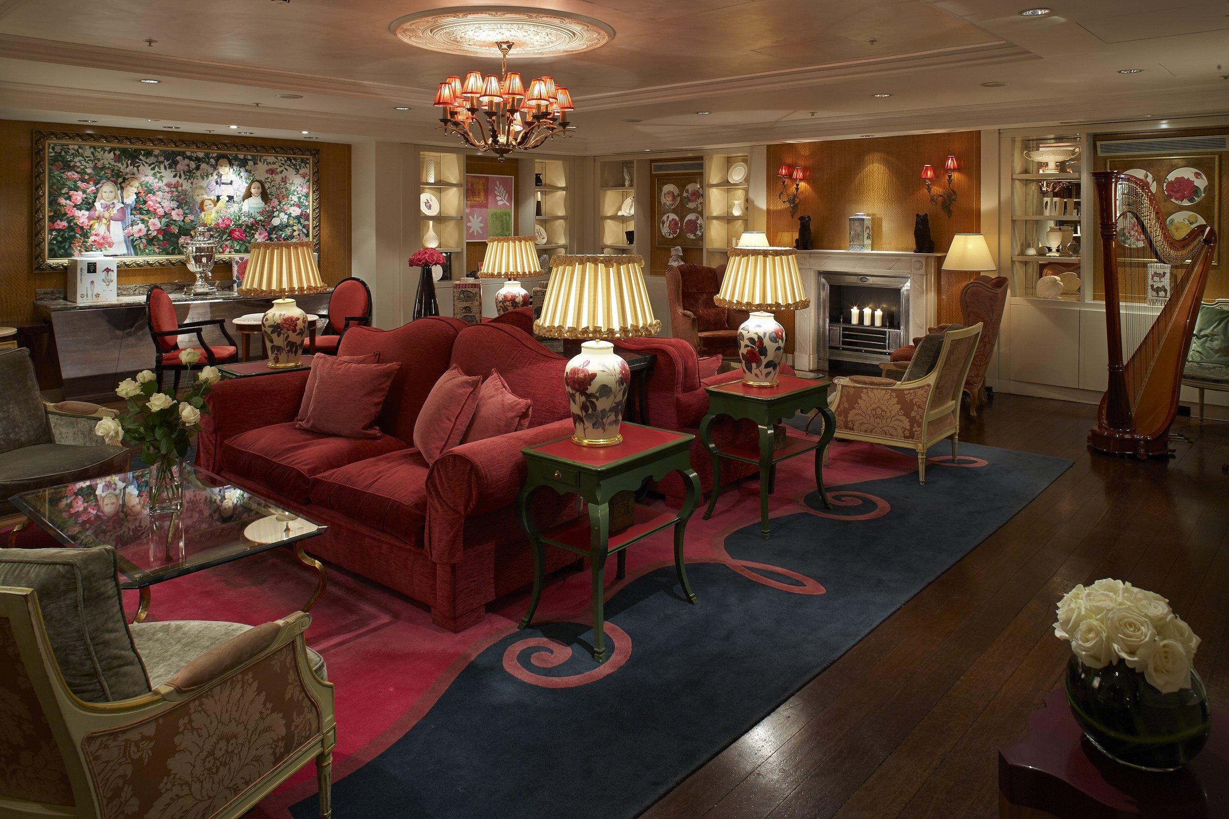 The Rose Lounge, Sofitel London, St James