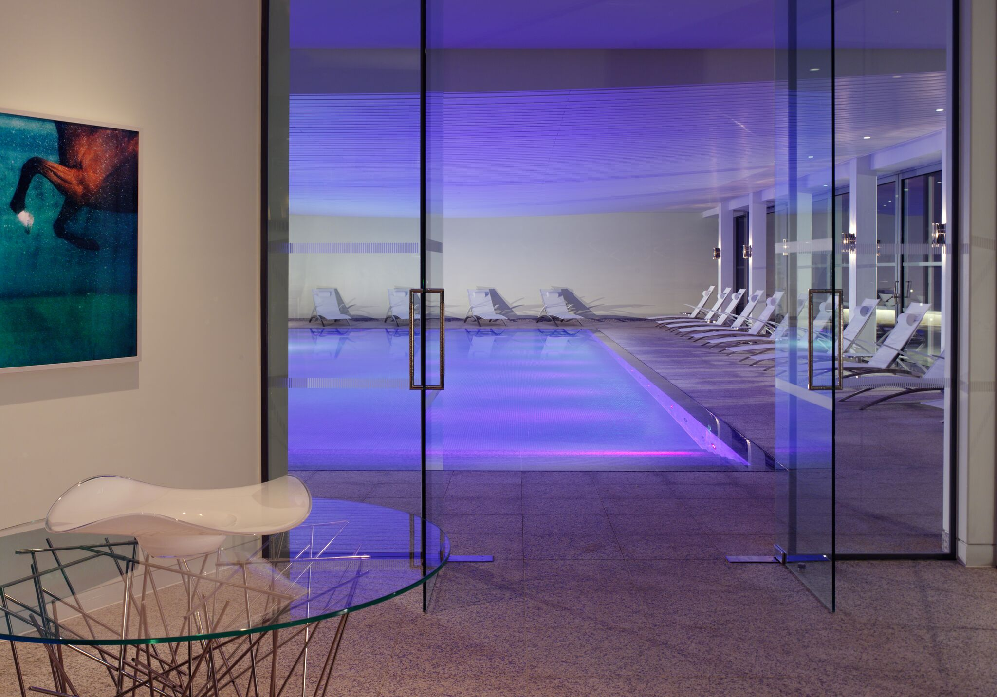 The Spa at Coworth Park Swimming Pool Entrance