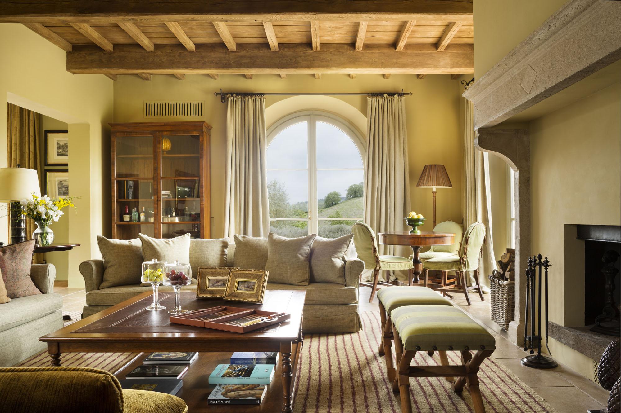 illa Casa del Fiume Living Room