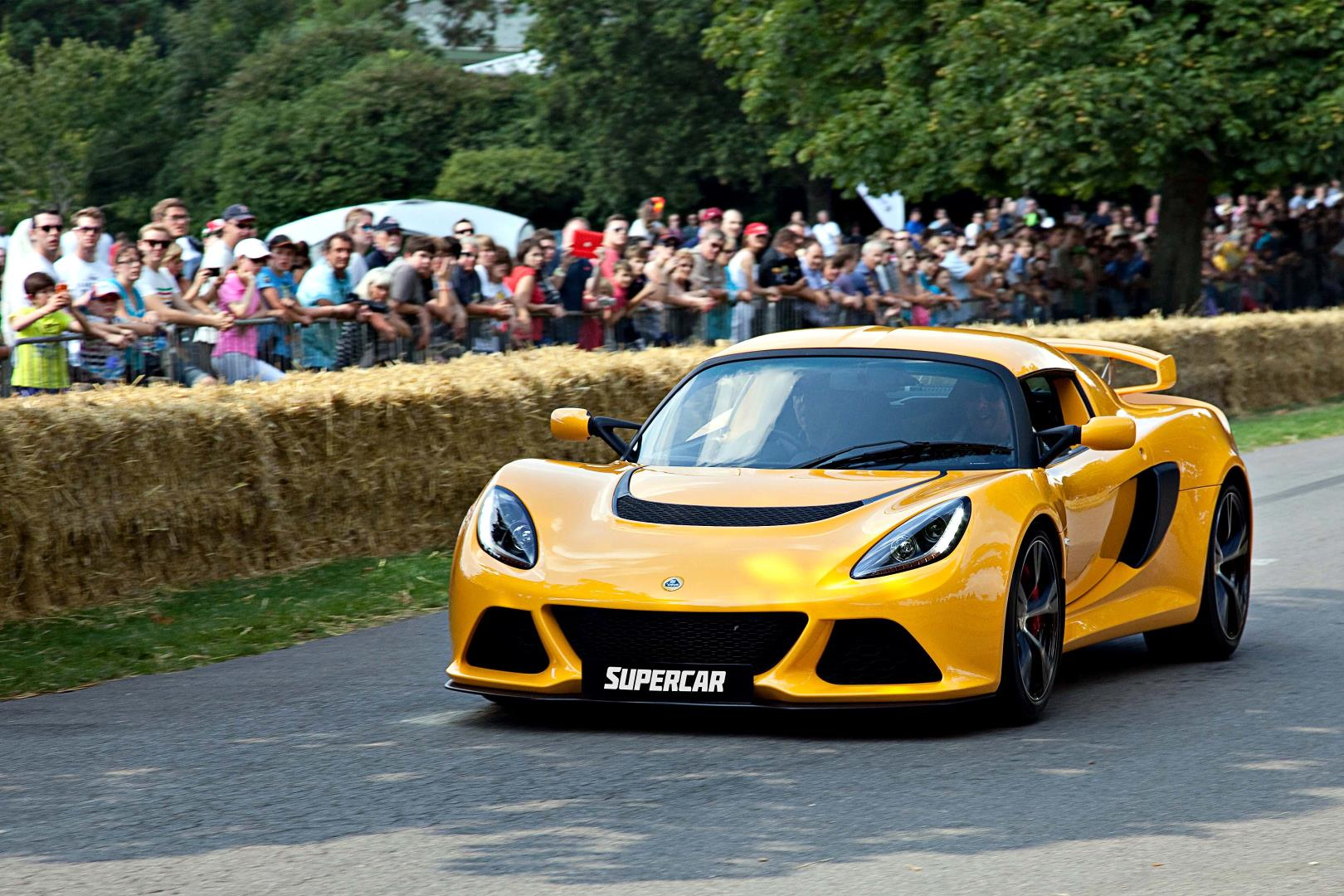 Beaulieu Supercar Weekend demonstration runs