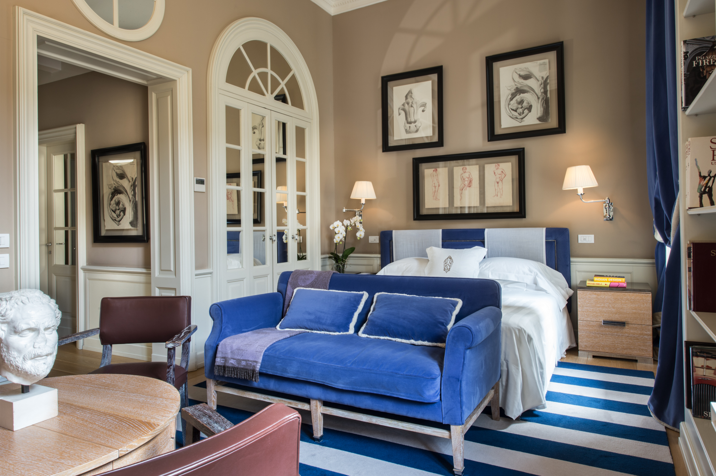 Above: Palazzo Vechietti | 14 Rooms from £396 per night including breakfast