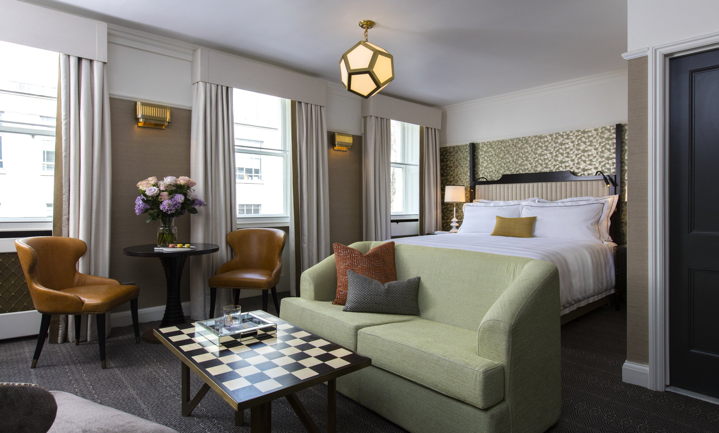 Above and cover image: The Academy London | 50 rooms from £287 per night