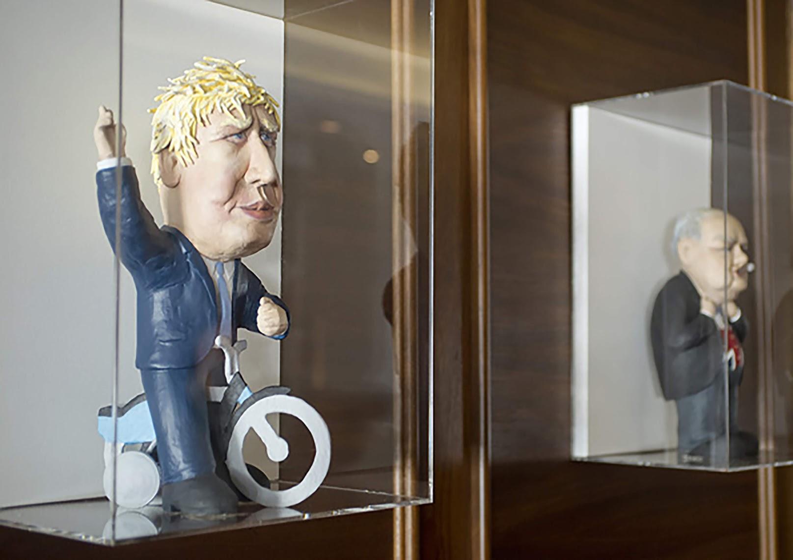 3D statuettes of British Politicians, Simon Bingle