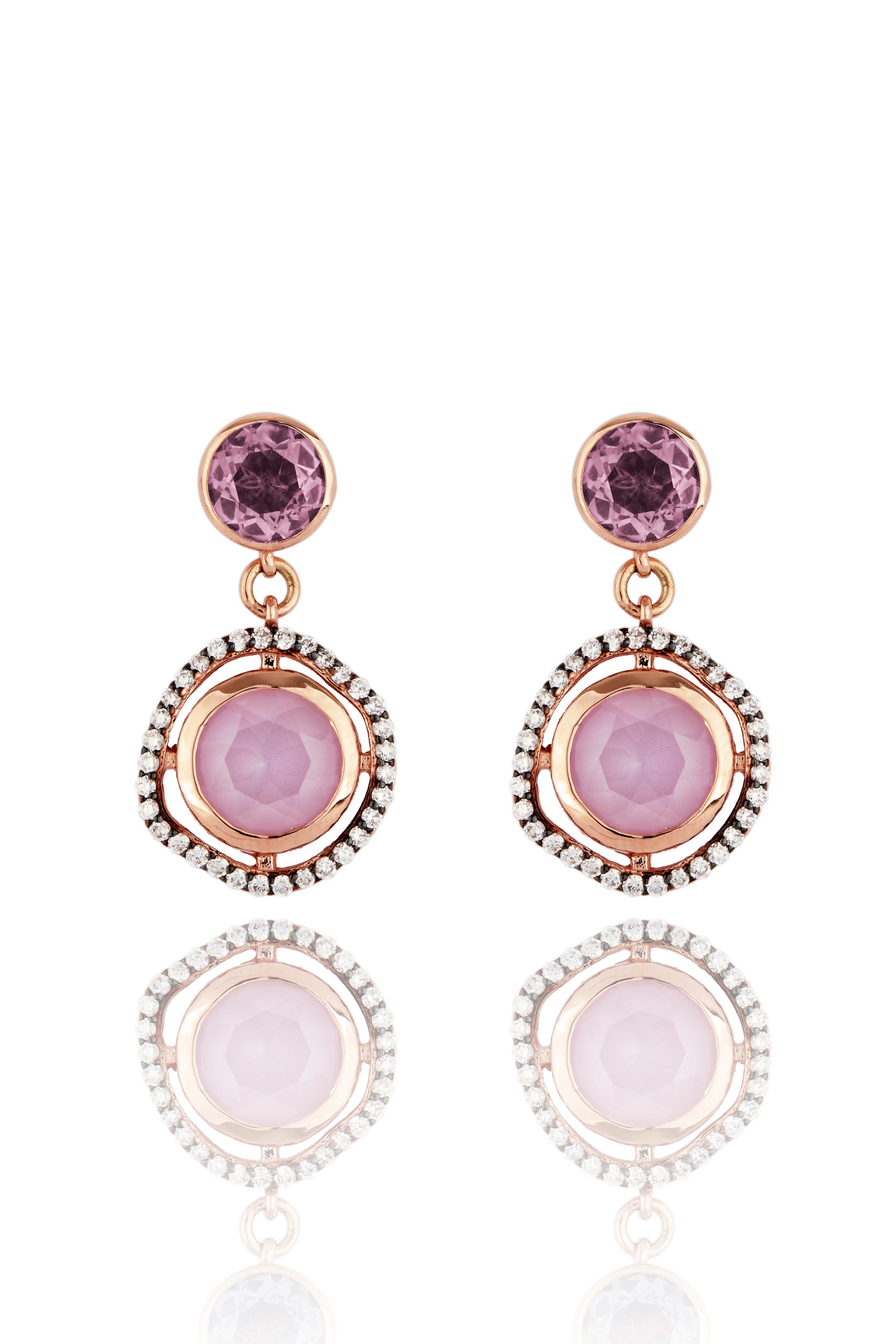 Lark & Berry Dark Halo Sapphire Drop Earrings, £825 |  www.larkandberry.com