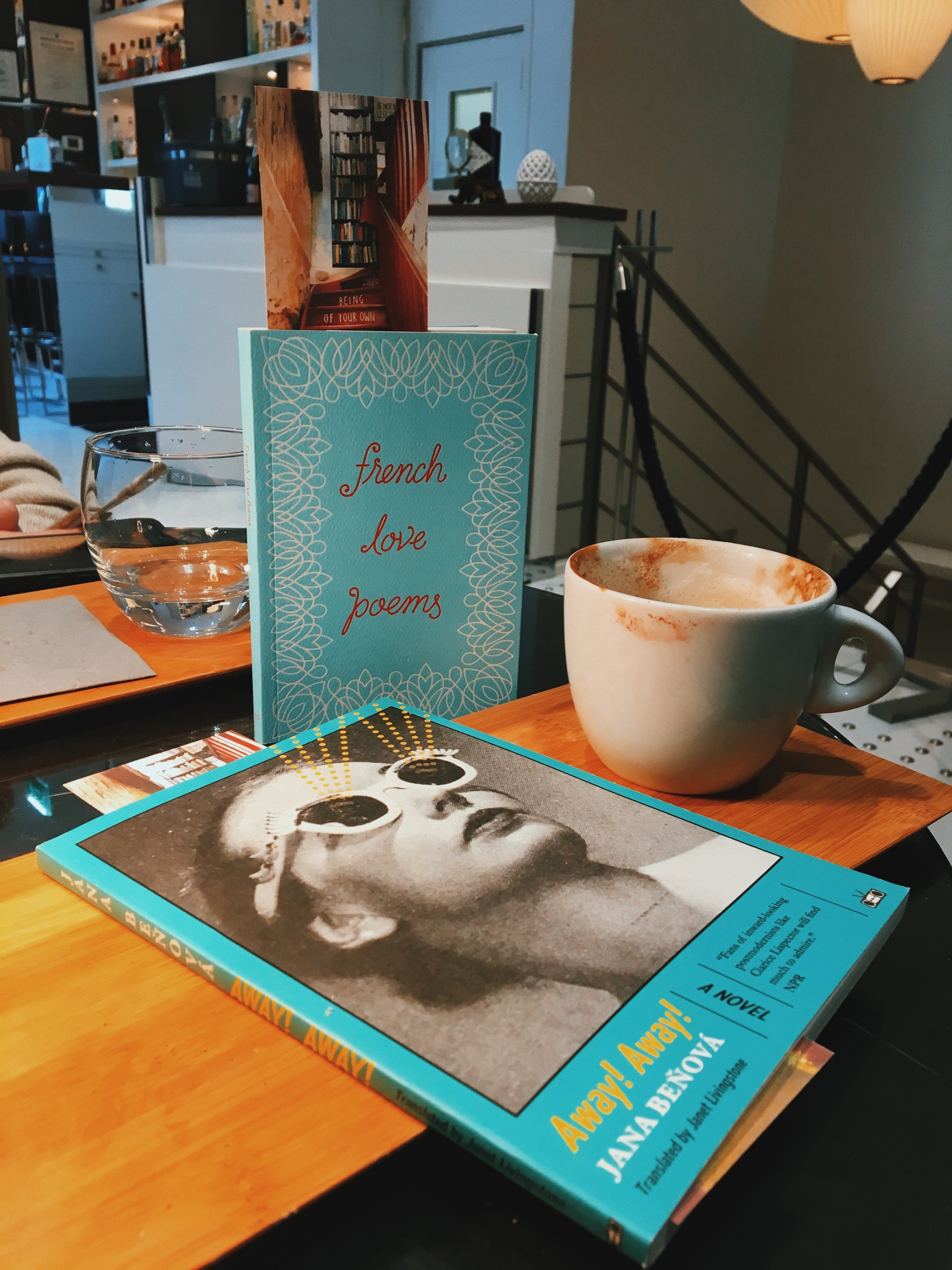 Coffee, lipstick and strange postmodernist literature in Paris: what's not to love?