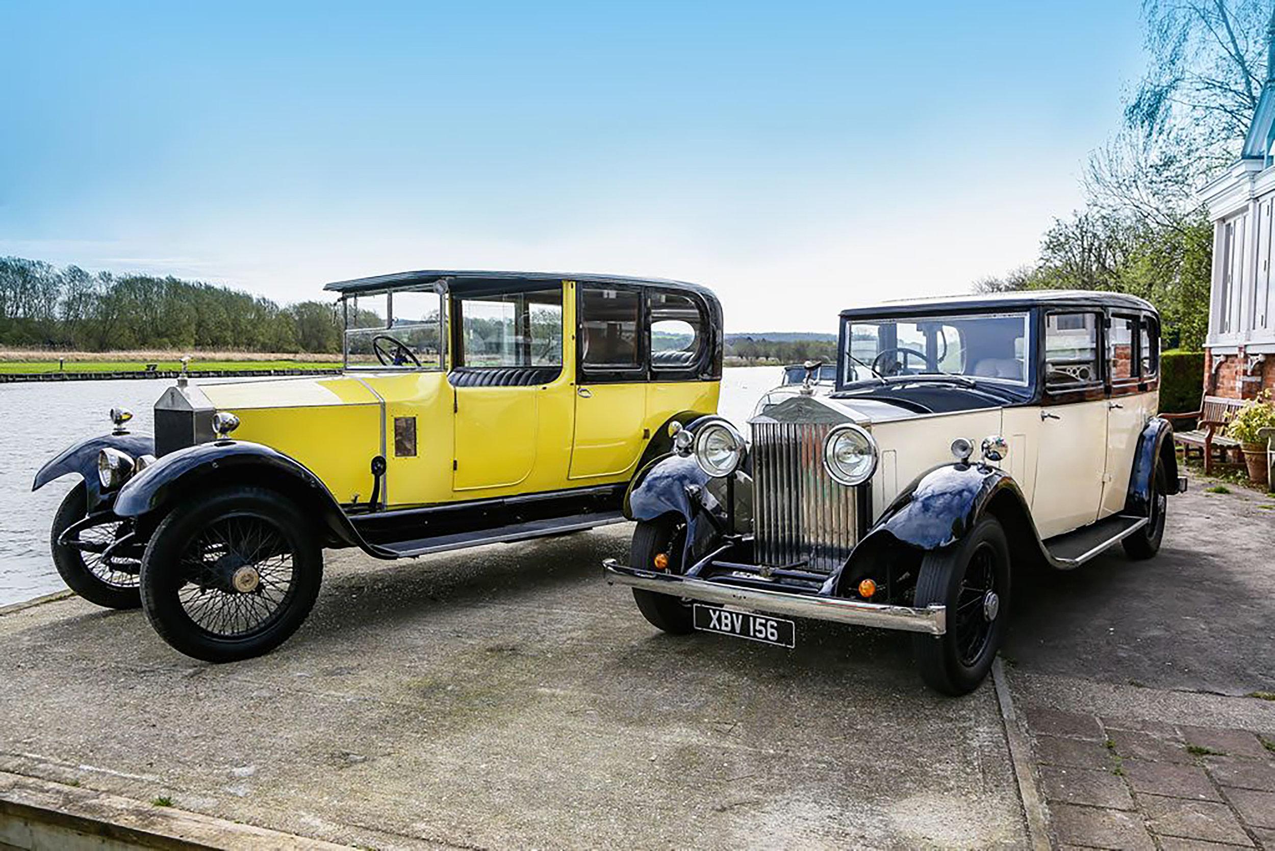 Back in Time - Rolls Royce Ride