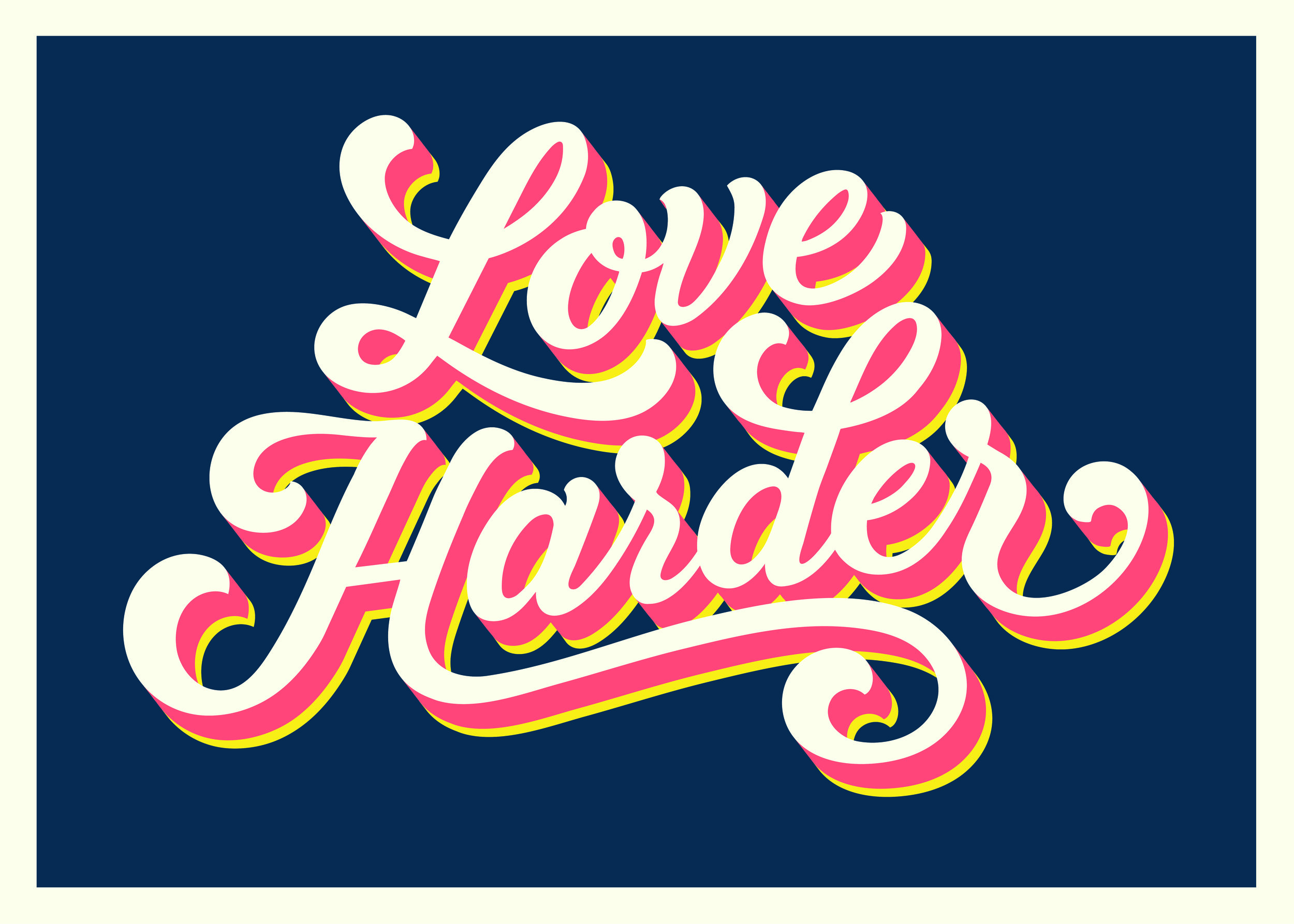 Lucinda Ireland, Love Harder