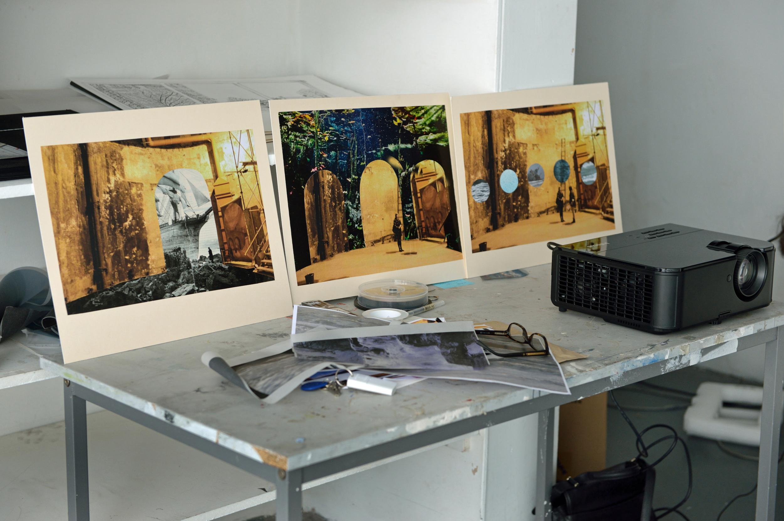 Lynn Dennison's studio, photo by AK Purkiss
