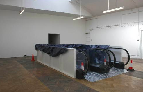 Patrick Lowry,  Escalator 2 , 2008, photo courtesy of the artist