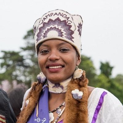 Ciara Jackson , Mashpee Wampanoag Powwow Princess 2016-2017