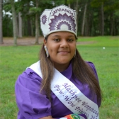 Tiana Lopes , Mashpee Wampanoag Powwow Princess 2011 -2012