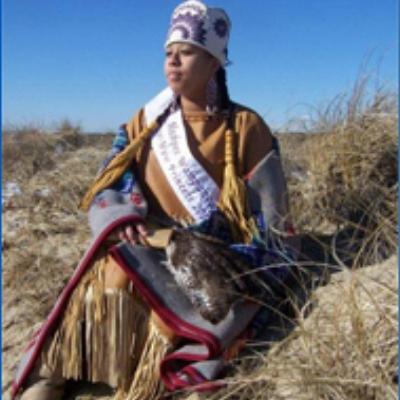 Kiona Anderson , Mashpee Wampanoag Powwow Princess 2010-2011