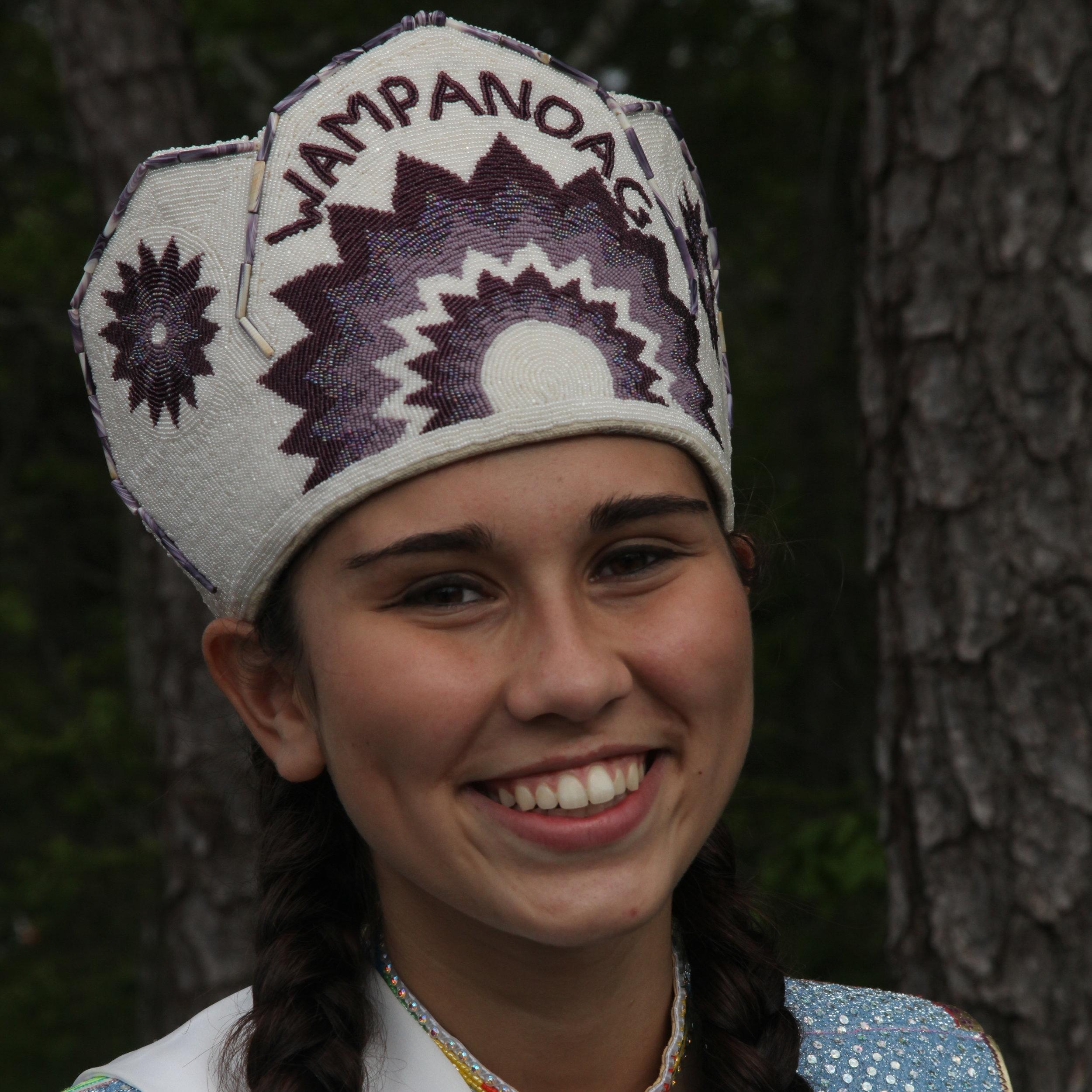Talia Landry , Mashpee Wampanoag Powwow Princess 2008-2009