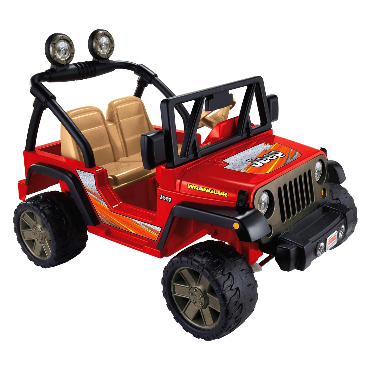 Every child will have a chance to win a Jeep Power Wheels!