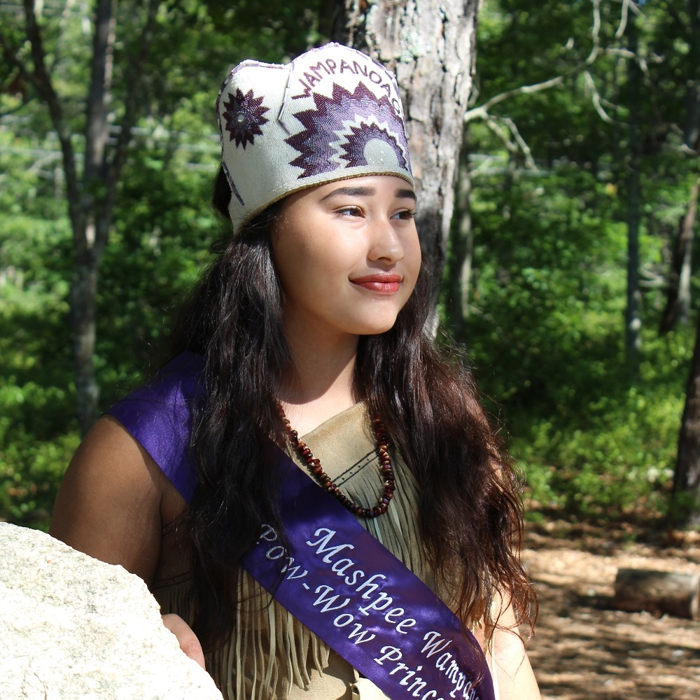 Daycia Frye , Mashpee Wampanoag Powwow Princess 2018-2019 -  Read more about Daycia