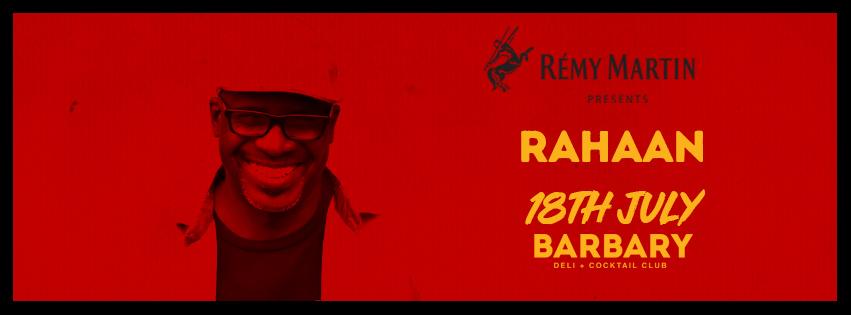 DJ Rahaan Barbary Dubai 2019