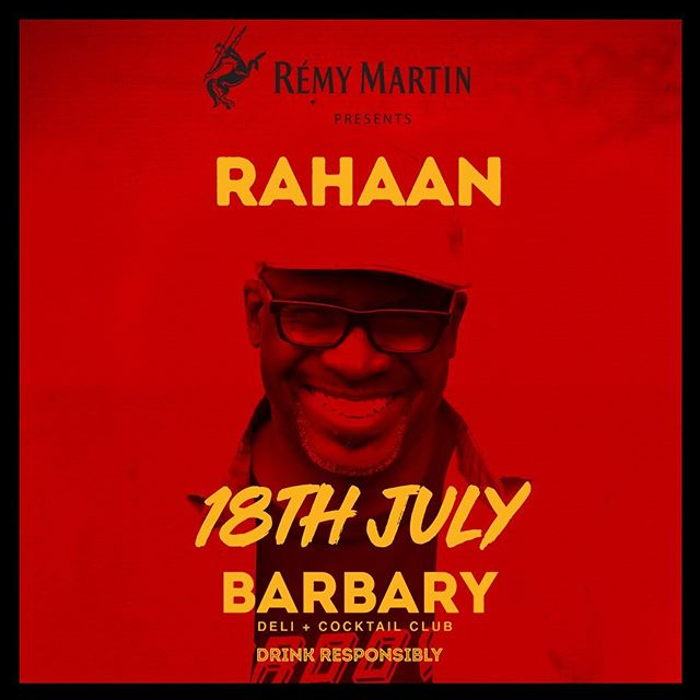 Summer's beginning and keeps getting hotter and hotter!  TOMORROW we're going WILD with @rahaanrah ! 💥💥💥 Link in bio to book your table.