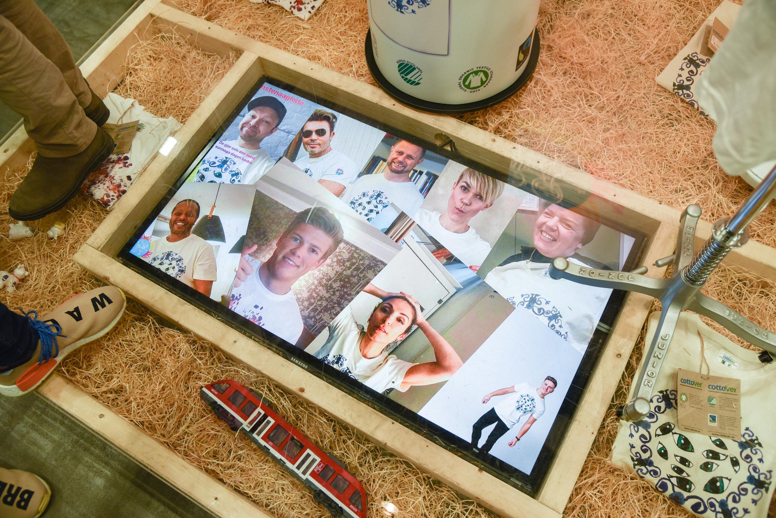 Flere kjendiser har latt seg begeistre av Kunsten å glede, men de setter like stor pris på å se tilfeldige fremmede bruke plaggene deres. – Det er også kult for barna på Rikshospitalet å se, sier August Øverbye. Foto: Jonas Lisether/NewsLab