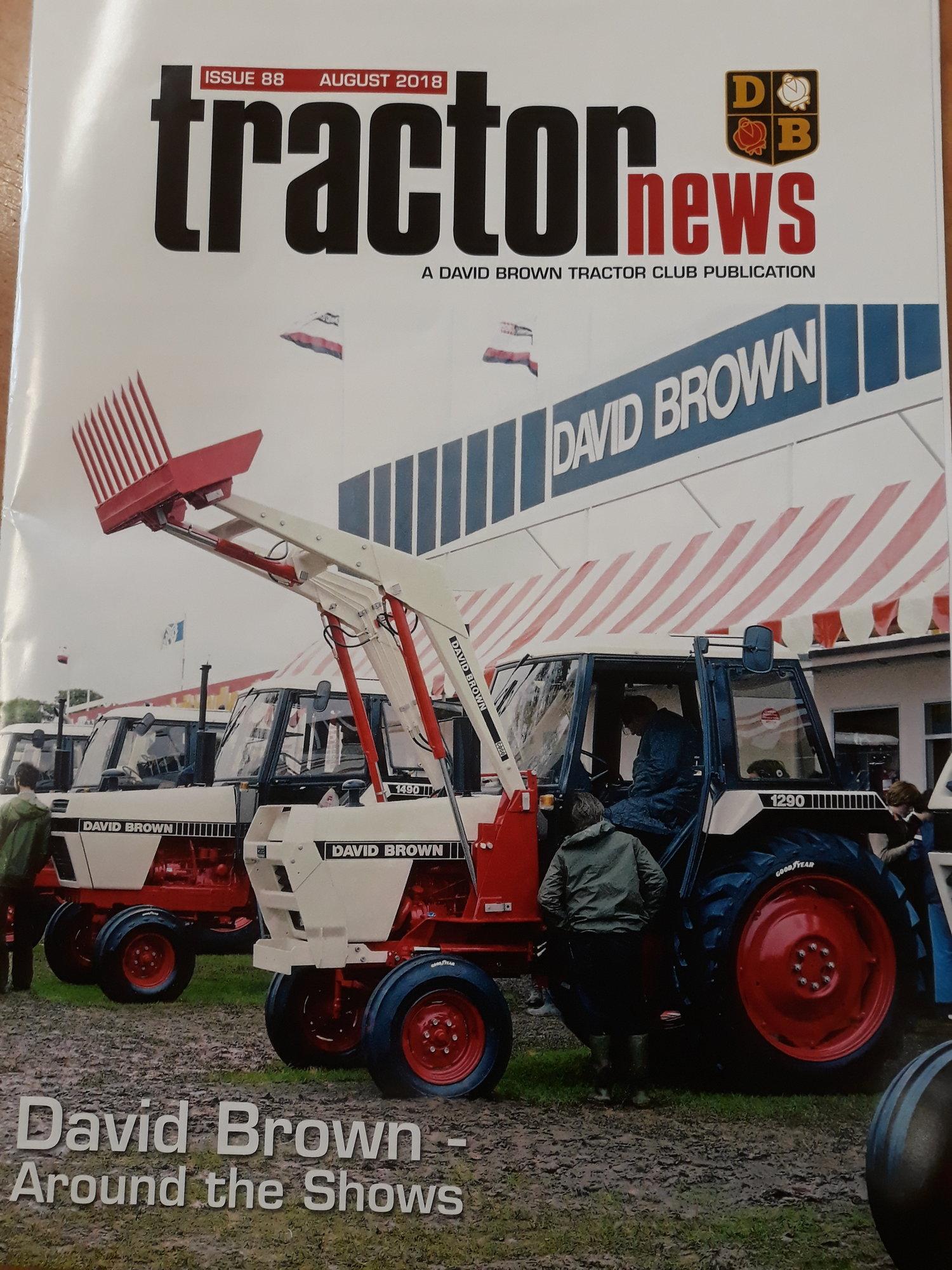 David Brown TRATTORI Portachiavi