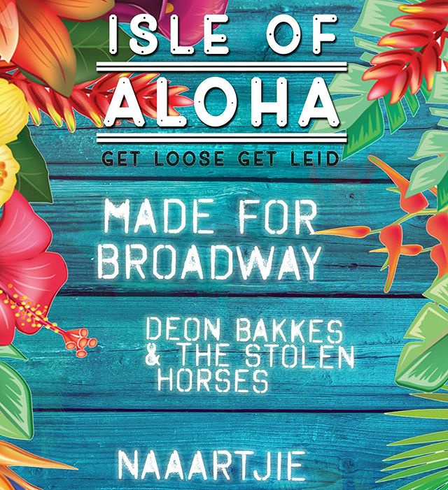 Isle of Aloha! 27th July! We gonna be bringing the heat with an all new set, lineup and big 'ol bag of tricks! Event link in our bio 🌴🌴🌴