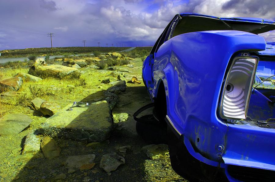 Sutherland Car Wreck