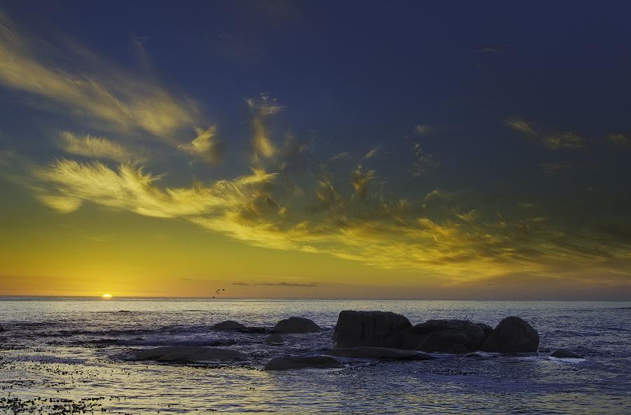 Sunset at Clifton Fourth Beach