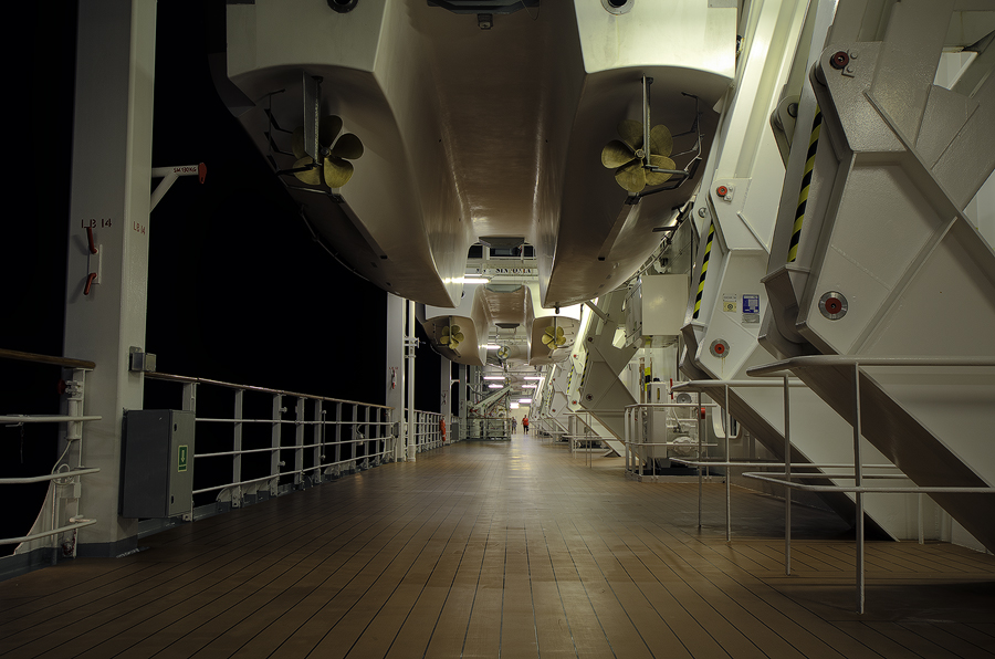 Sinfonia lifeboat deck