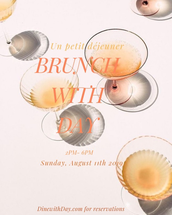 6 courses, sunshine and unlimited Rosé wine pairings a Sunday well spent, brings a week of content!  Just a few seats left for this Sunday's #BrunchWithDay click the link in my bio to book your reservations It would be my pleasure to serve you!