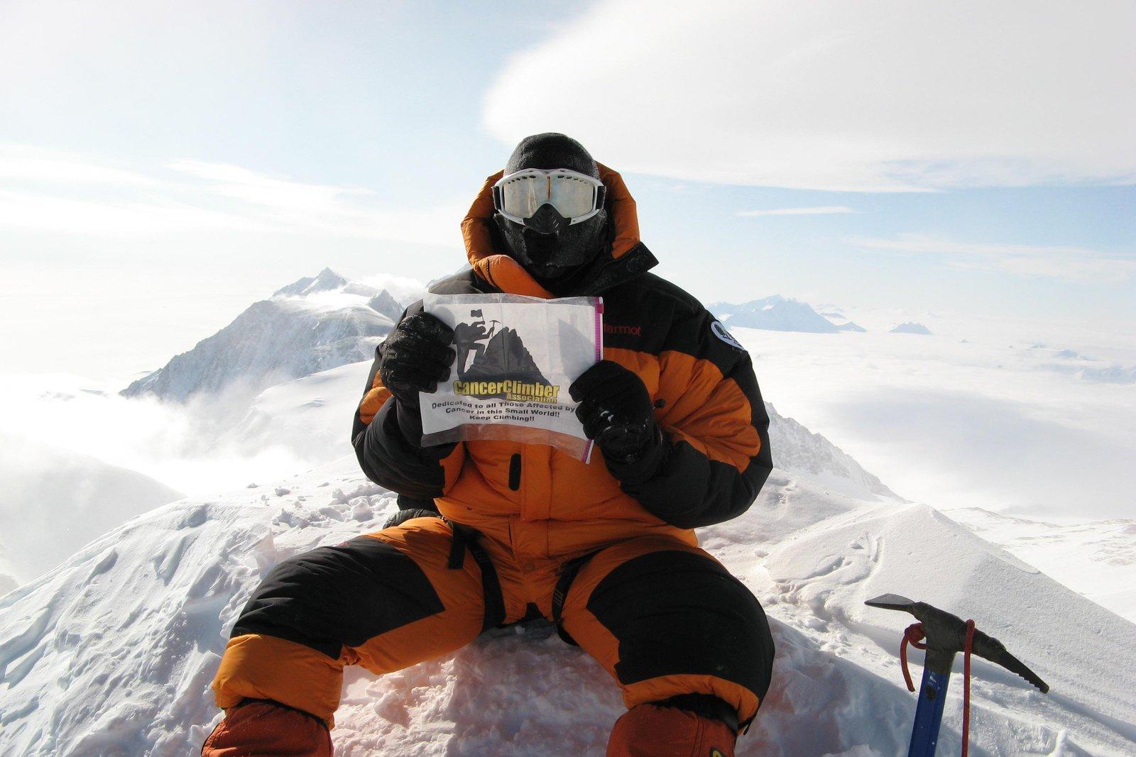 Mt. Vinson, Antartica (2007)