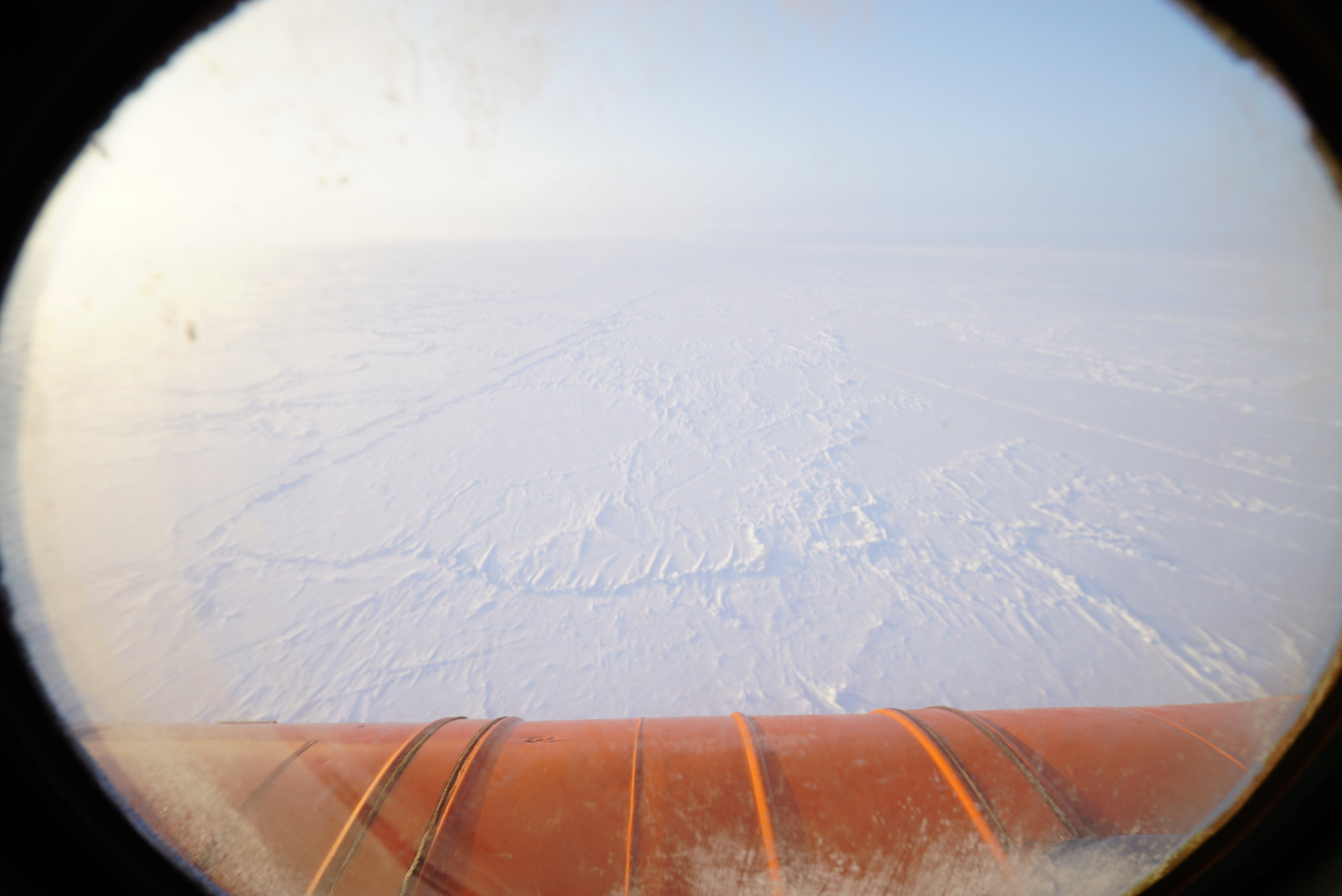 Descending the North Pole