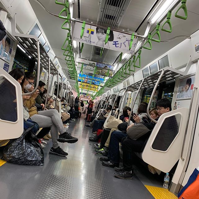山の手ラーイン笑  #yamanoteline#japan#train
