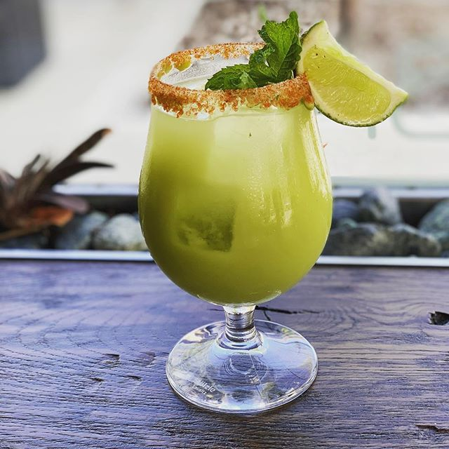 Celebrate cinco de Mayo a day early with one of Milton's famous avocado margaritas!! @latinogypsy #cincodemayo #rye #cocktails #margaritatime #westchestereats