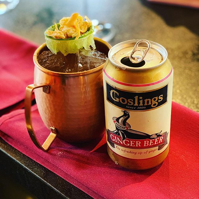 Perfect day to come in and try our Moscow Pony! #moscowmule #winebar #goslings #ryangosling #rye