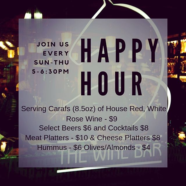 Happy Hour at The Red Pony ! Join us every Sunday through Thursday for discounts on your favorite drinks and food plates. Not to mention two very special happy hour cocktails served solely for happy hour guests! Swing by and grab a cheap drink anytime between 5-630pm! Cheers! #rye #cocktails #happyhour #westchester #westchestereats #winebar