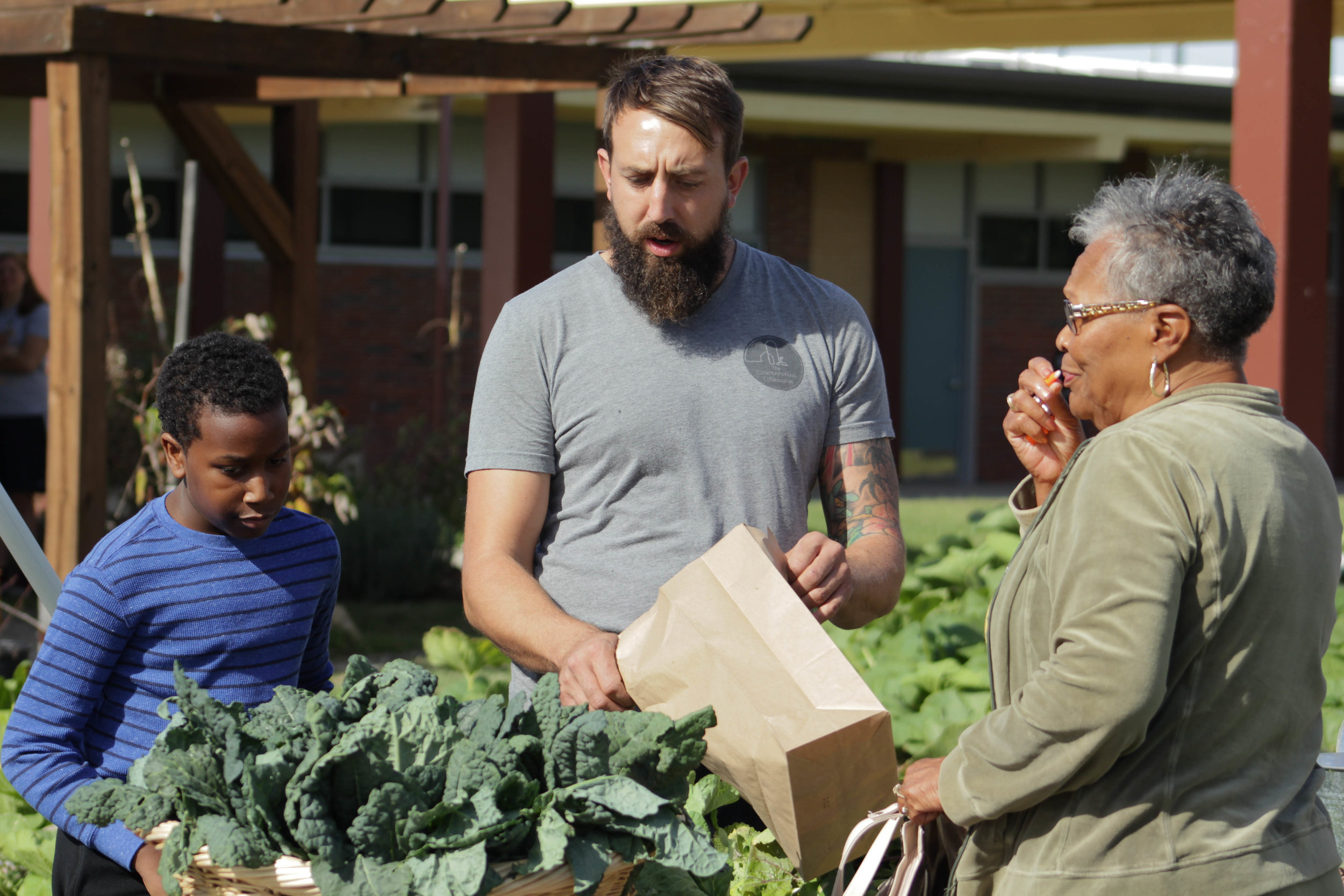 Community Supported agriculture -