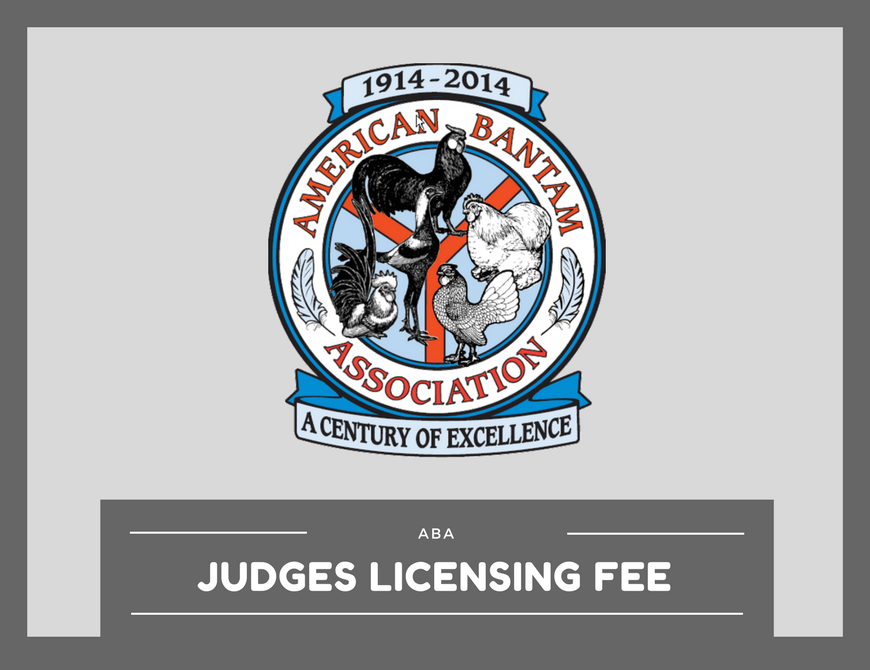 ABA Judging Manual for Bantam Ducks