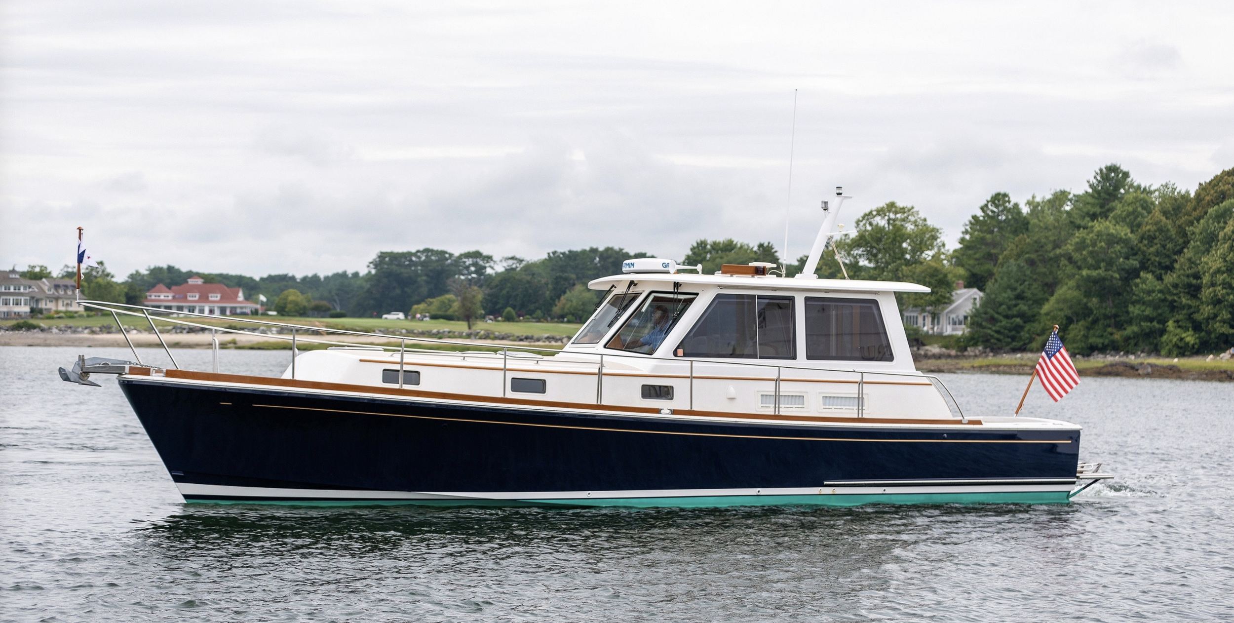 "JUST SOLD! - Grand Banks Eastbay 43 SX 2006 - ""Yesalutely"""