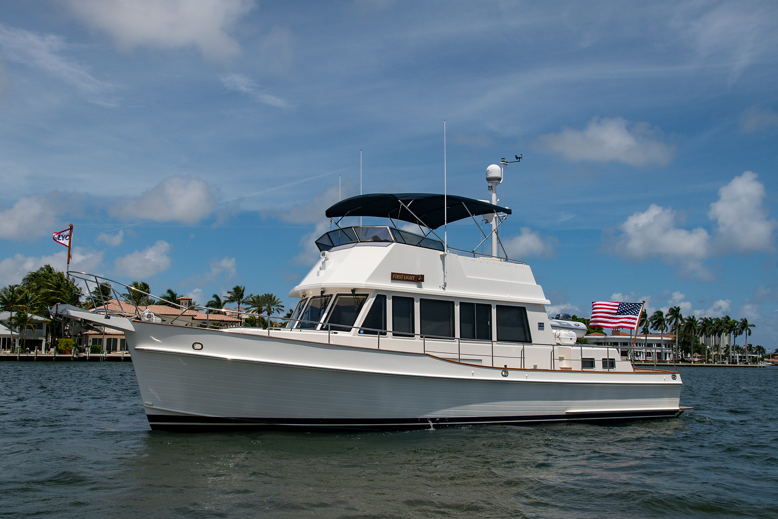 2007 model Grand Banks 47 Classic, FIRST LIGHT