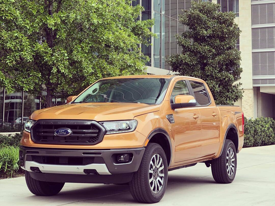 The Ford Ranger Lariat Sport, in the color Saber. Photo: LeeAnn Radonski