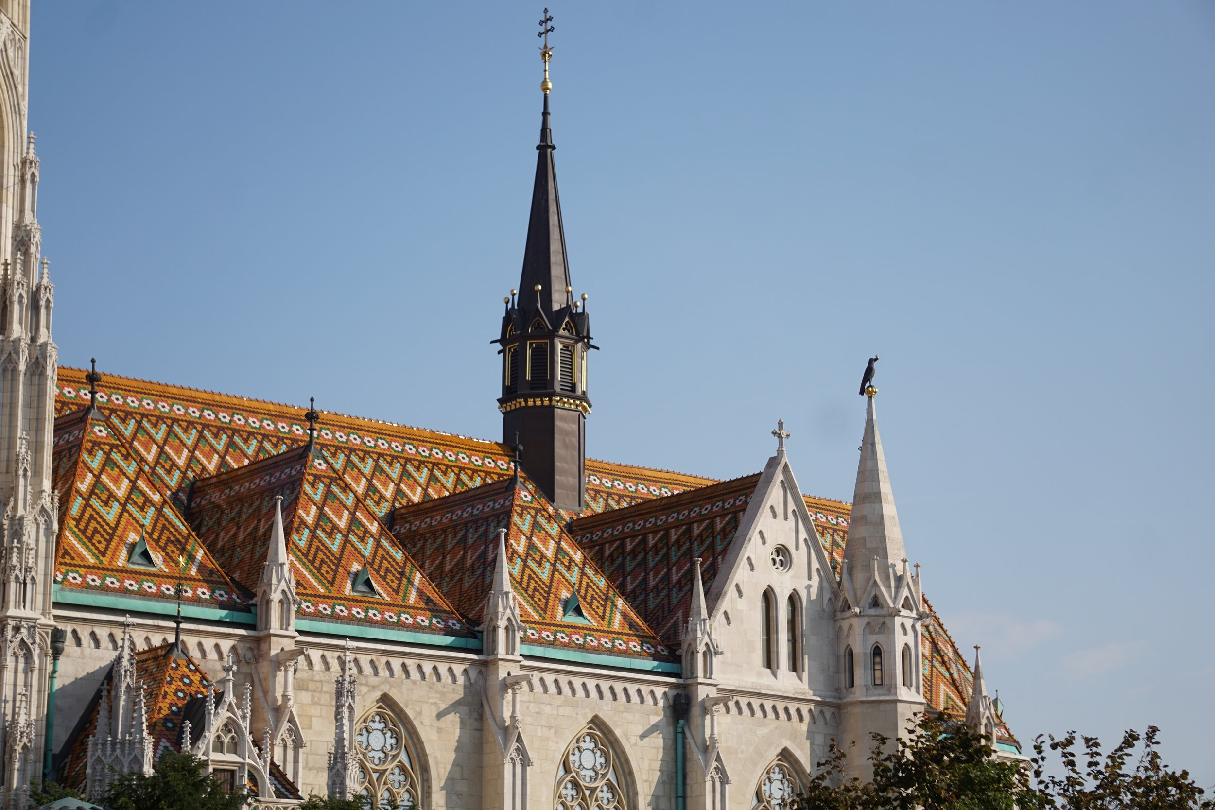 Extraordinary church roof