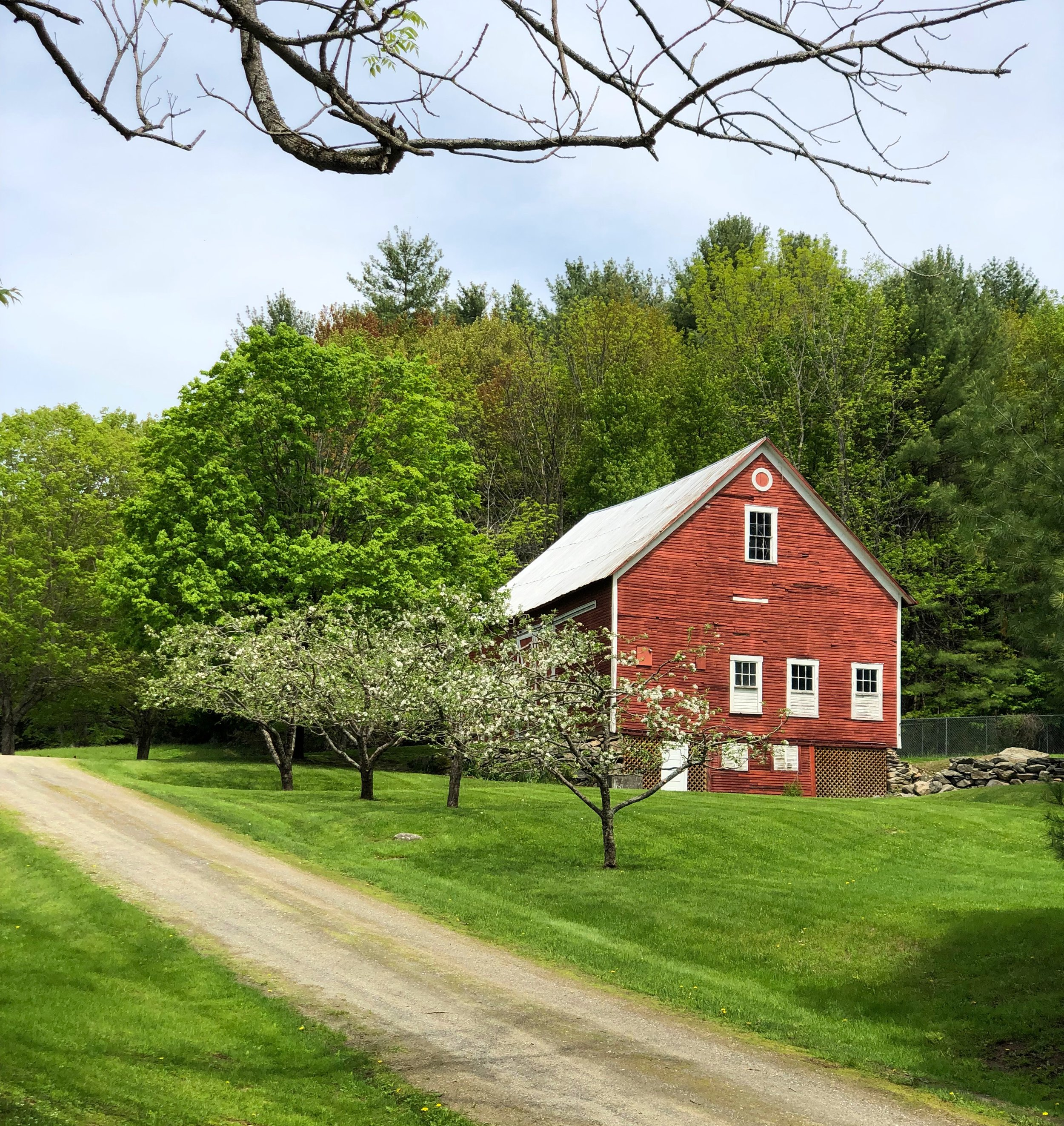 Our barn in Chester, Vermont