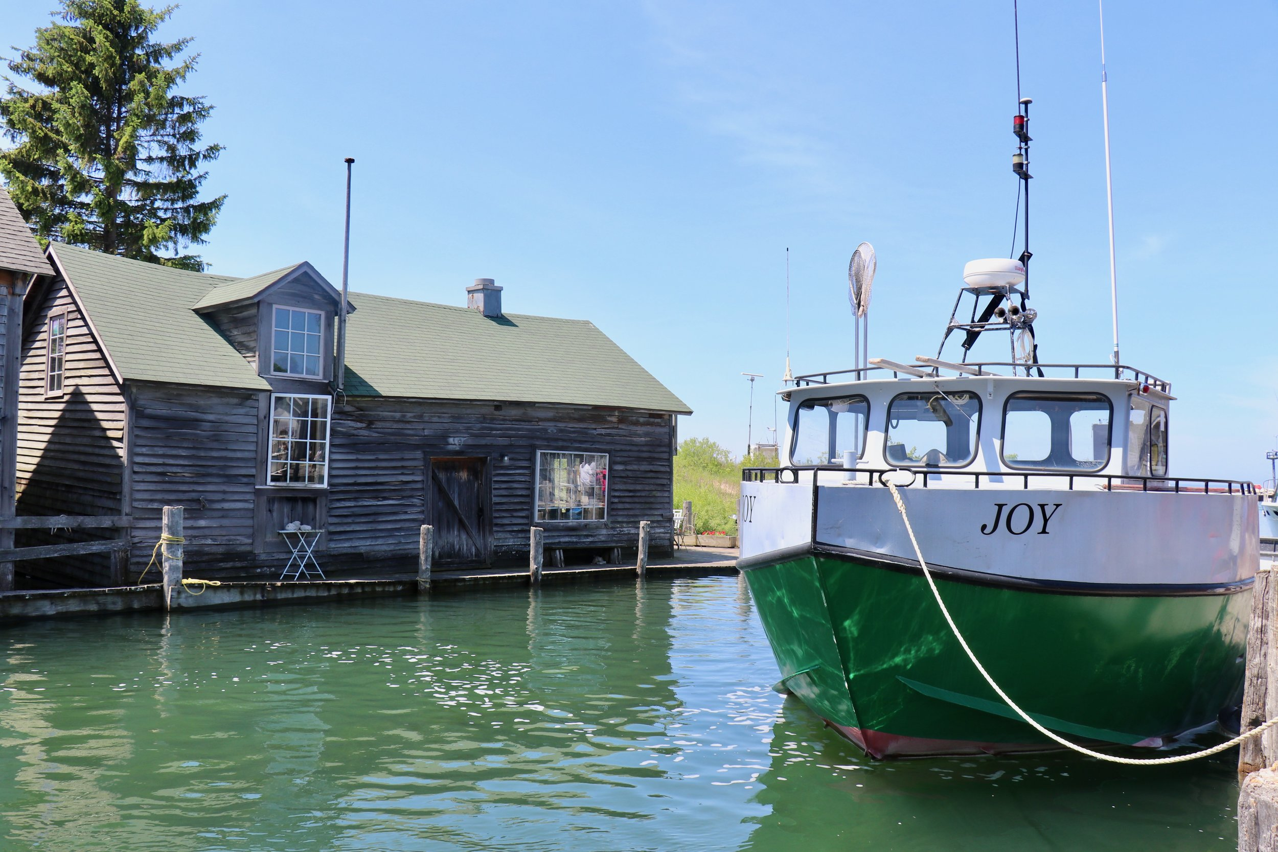 Fishtown in all its glory….or Joy to be precise!