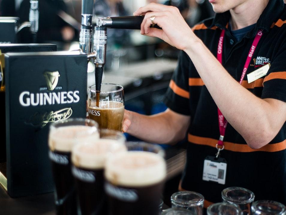 Image: afar.com   Guinness Storehouse in Dublin