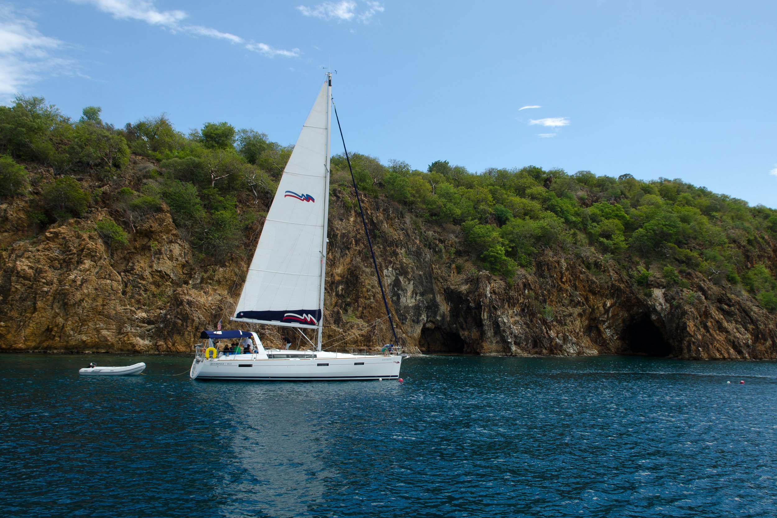 Chartered Sailboat Tours