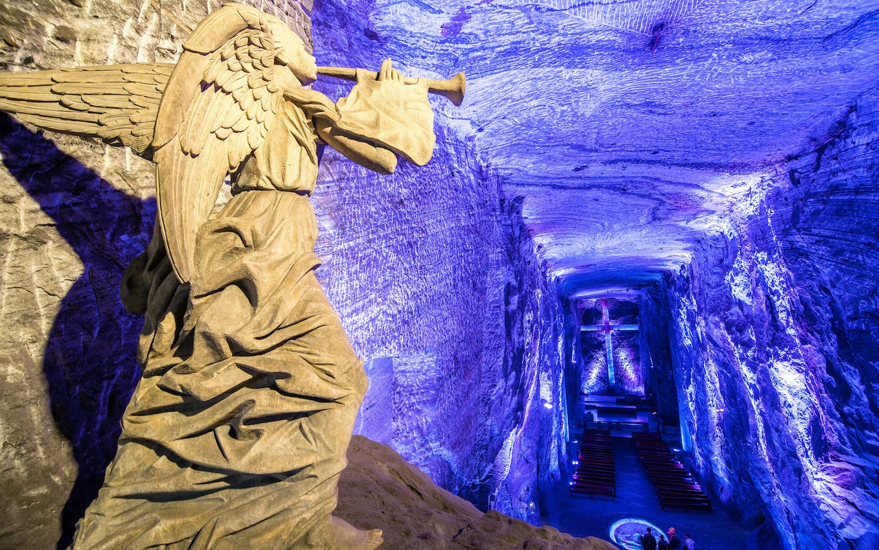 Zipaquirá Salt Cathedral. Photo credit: Alamy