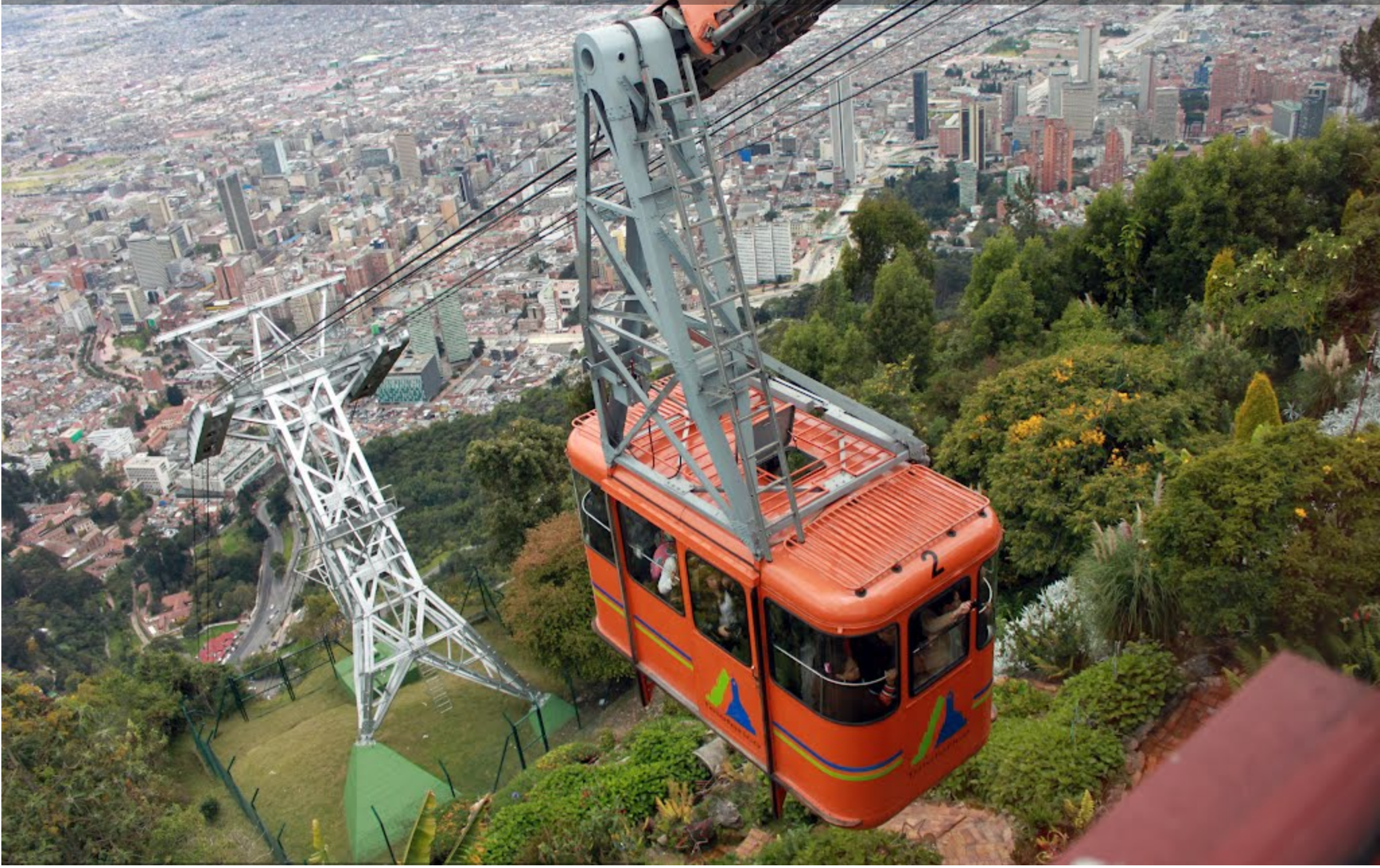 Cable car ride Monserrate