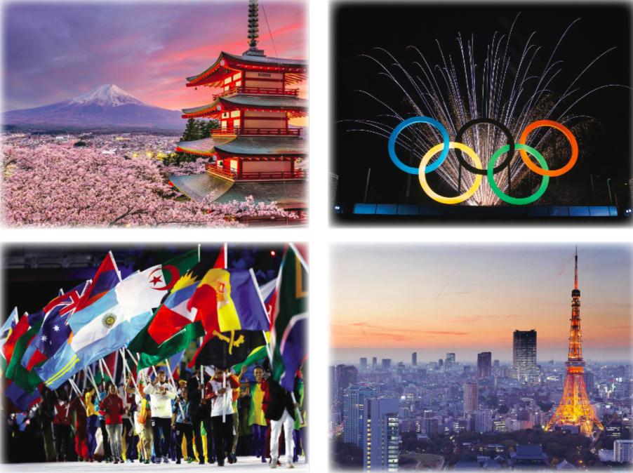 Summer 2020 Olympics Tokyo 4 Image Spread