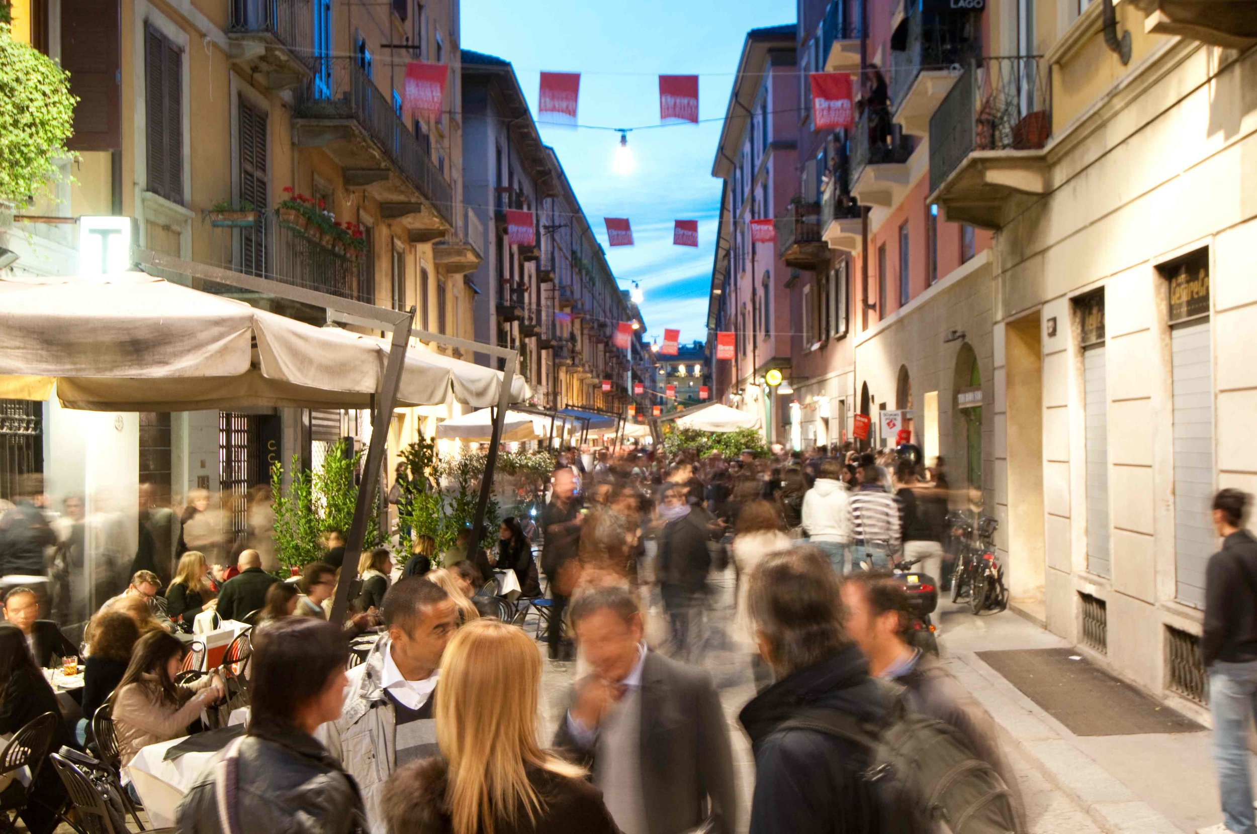 Brera District Milan  Photo Credit: milancitytour.com