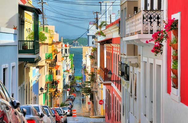 San Juan, encompassing hundreds of years of history  Photo Credit: worldnomads.com