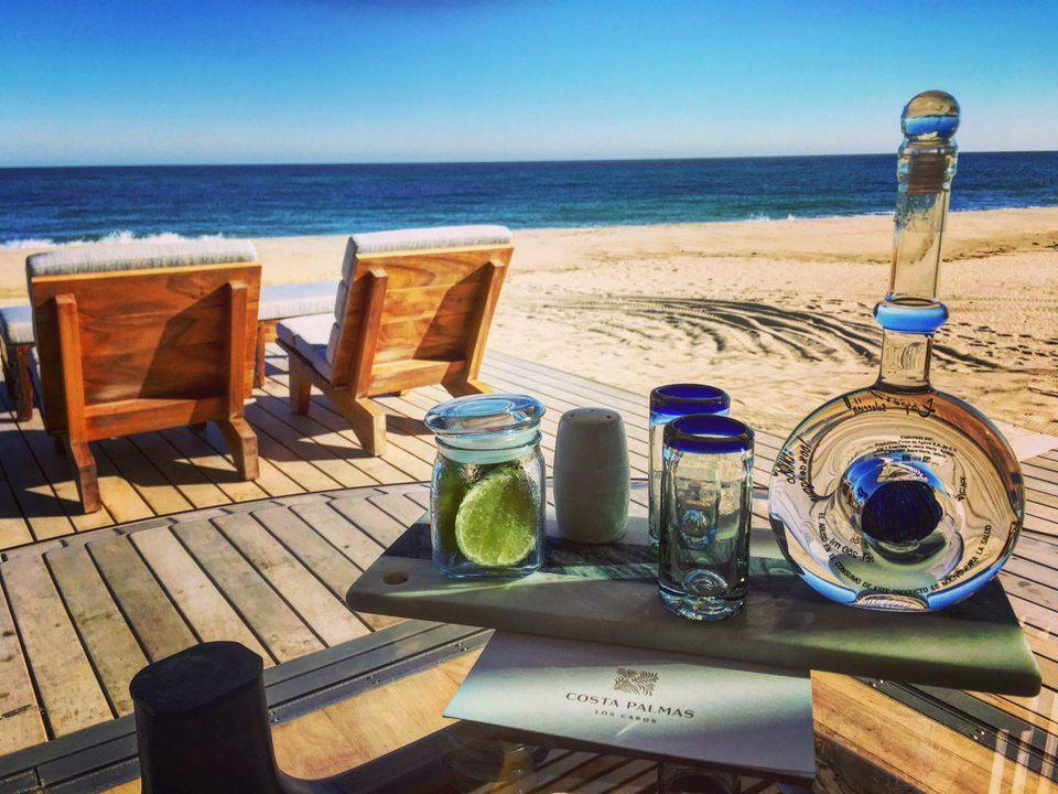 Beachfront Cabana at the Four Season Resort Los Cabos at Costa Palmas  Photo Credit: Jim Dobson